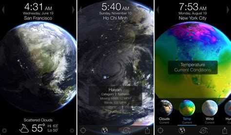3D Planet Weather Simulator 'Living Earth' Updated with