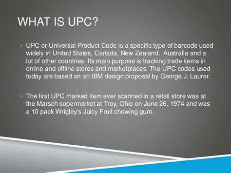 What is a UPC code and why you need it?