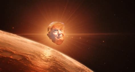NASA's New Planets Bring On a Wave Of Stale Trump Jokes