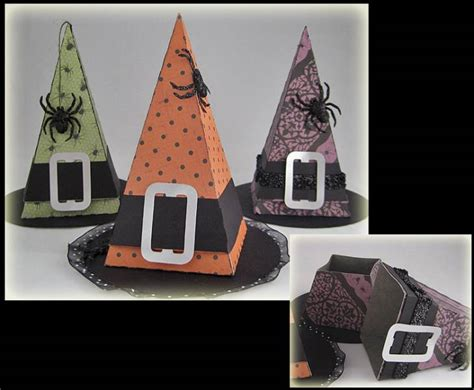 Witch Hat Treat Holders for Halloween 2012 by nlsmith68