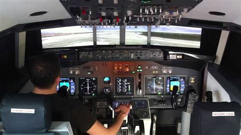 Boeing 737 Home Cockpit - YouTube